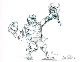 DSC12192012--hellboy by johnercek