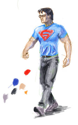 Depowered Superman Sketch