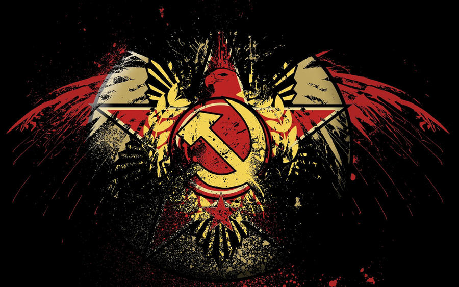 Eagle Hammer Sickle dark by Hard-Rob