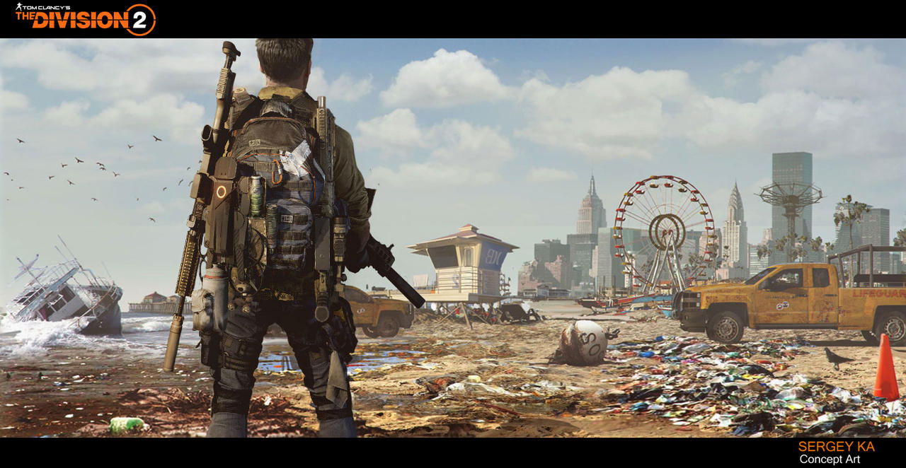 Concept Art The Division2 By Wert23 On Deviantart