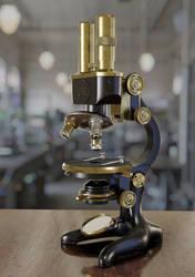 Microscope by Chicory-ru