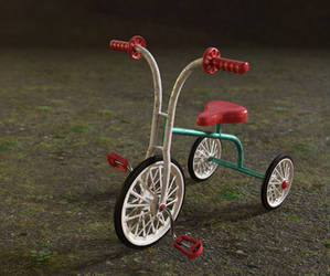 children trcycle by Chicory-ru