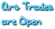Art trades are open by i-Anzu