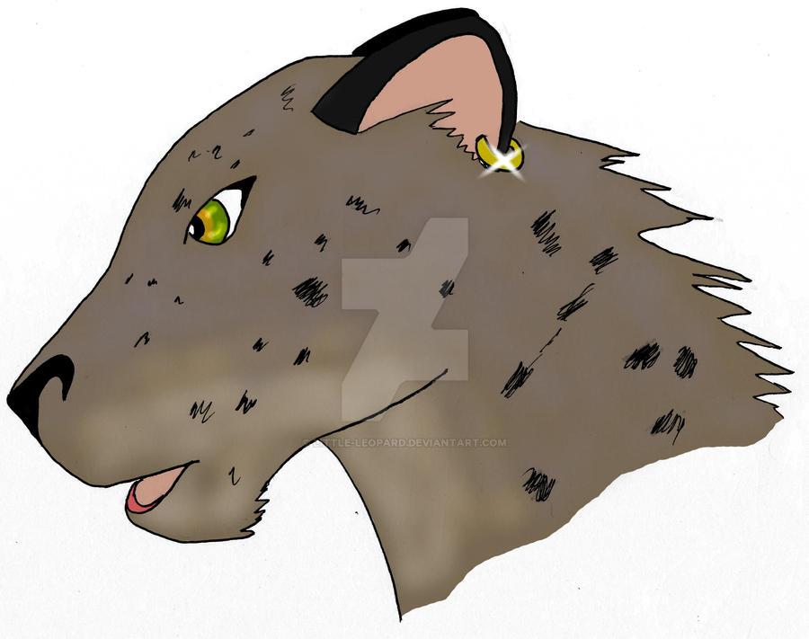 Vane - Head shot by Little-leopard