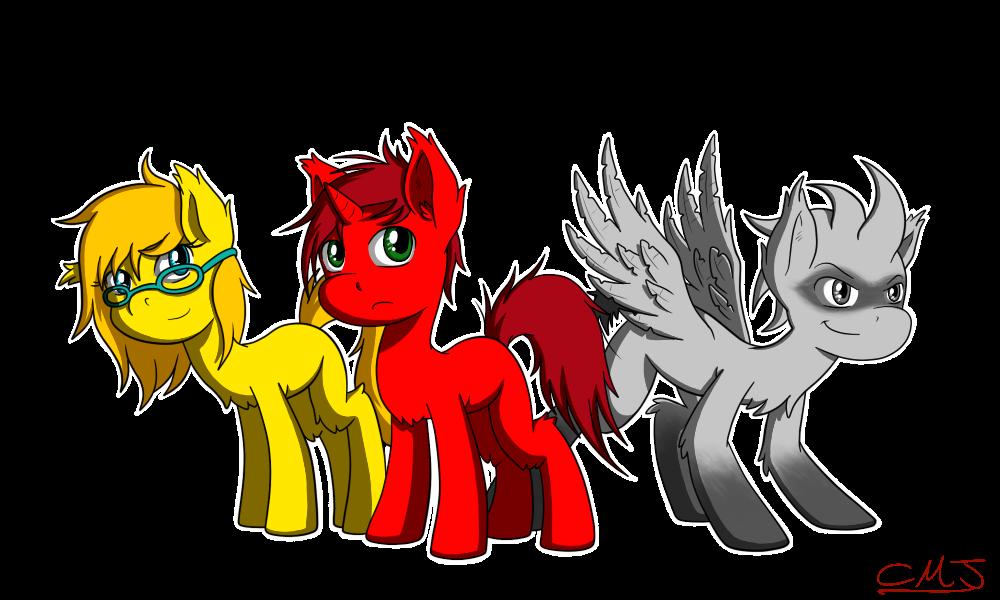 Lil ponies by Call-Me-Jack