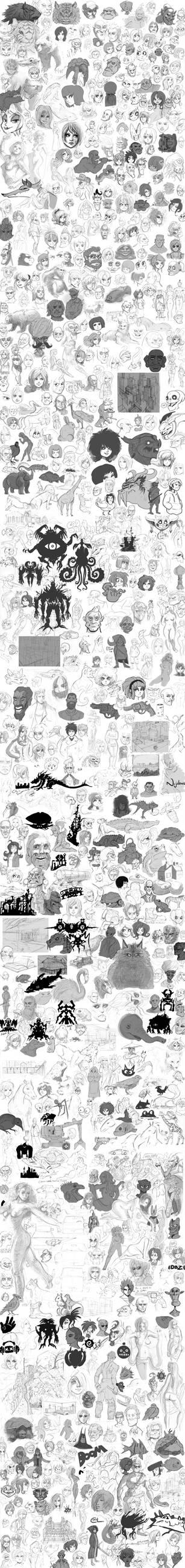 ultra massive torrent of drawings 2012