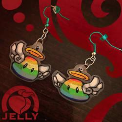 Rainbowmon Earrings