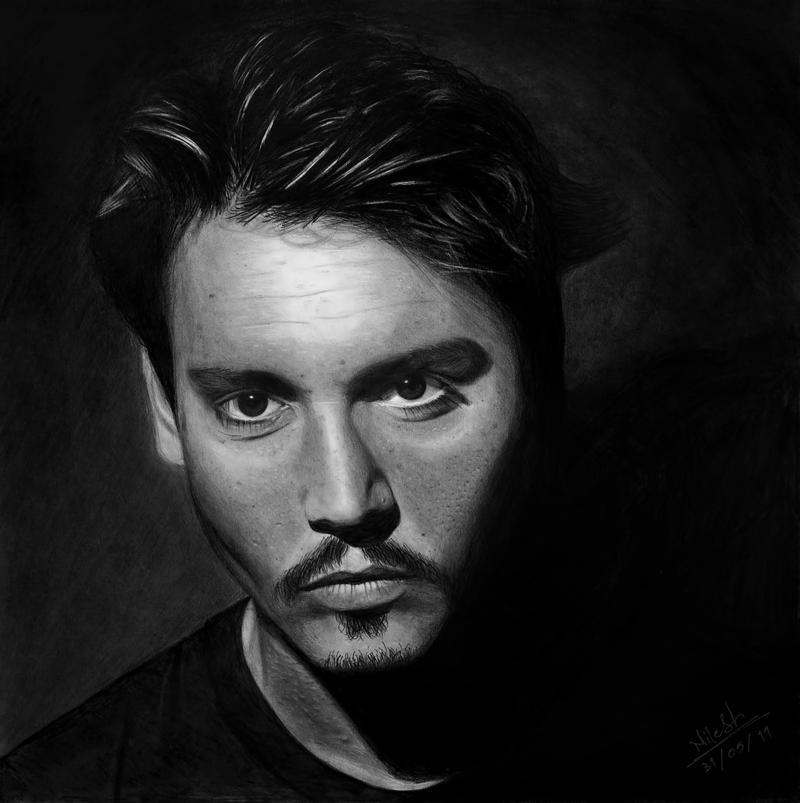 Johnny Depp by NEcrOMAnCERDEmON