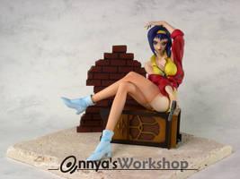 Faye from Cowboy Bebop by annya12345