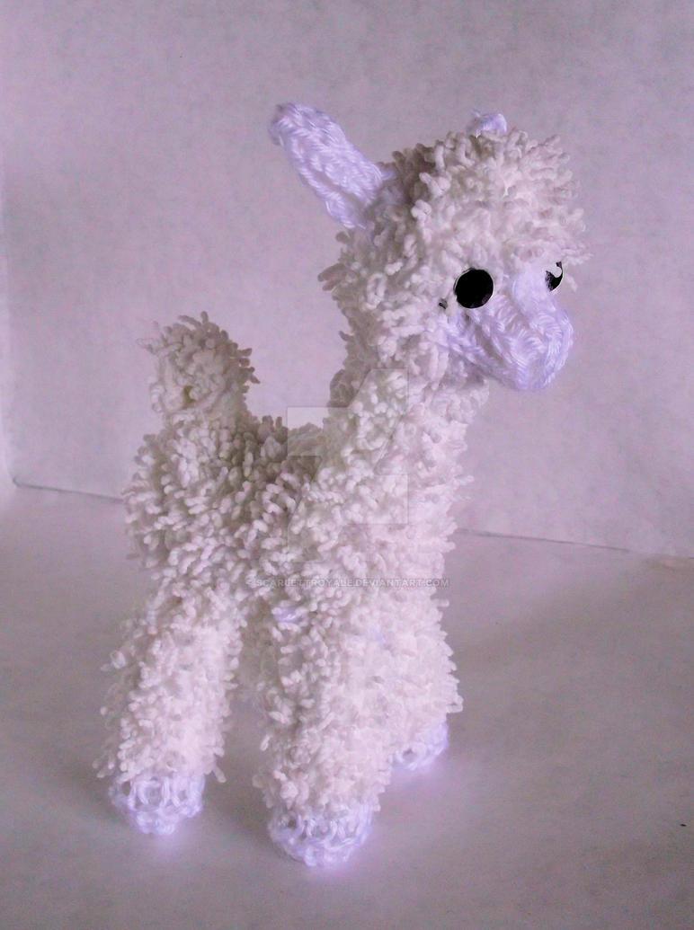 Loom Knitted Alpaca by ScarlettRoyale