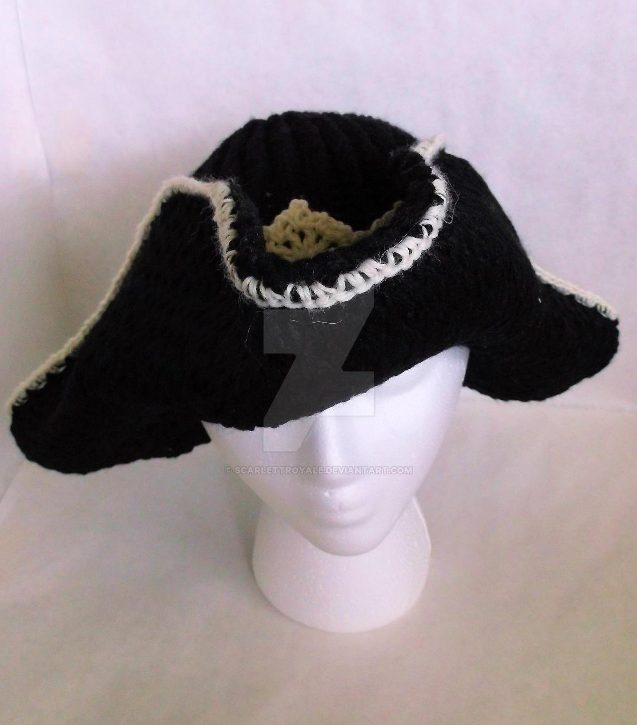 Loom Knit Pirate Hat by ScarlettRoyale