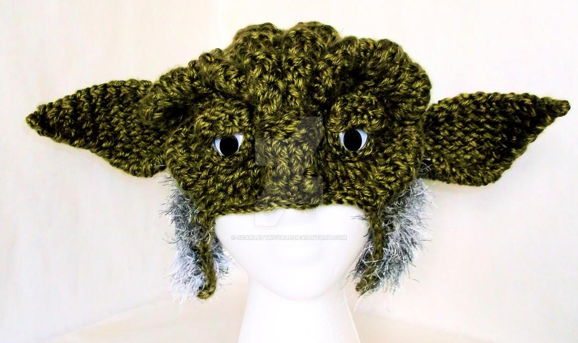 Loom Knit Yoda Hat by ScarlettRoyale