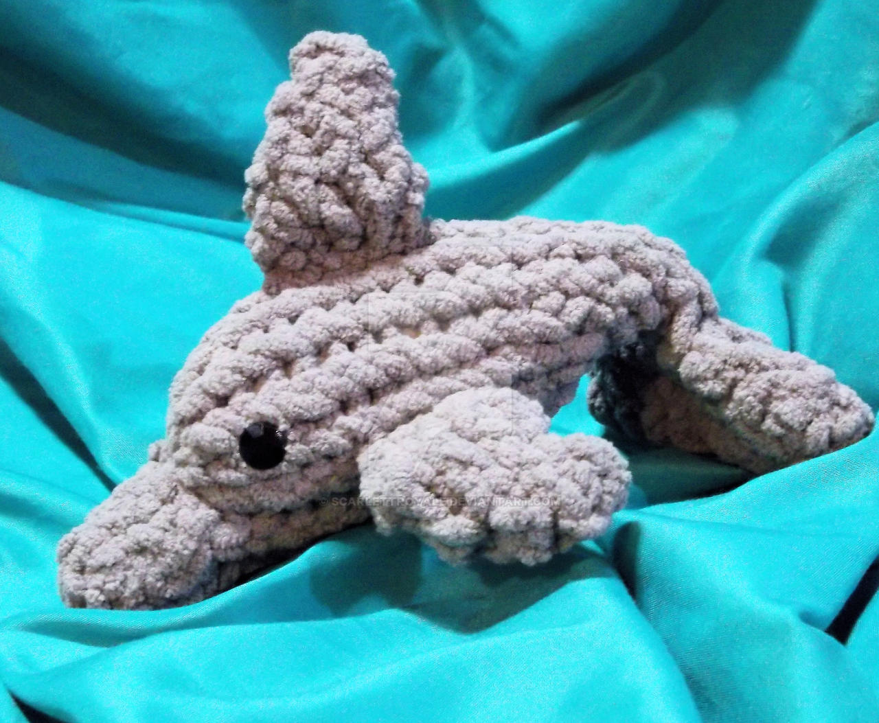 Loom Knit Dolphin by ScarlettRoyale