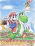 Super Mario World by Kosmotiel