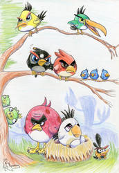 ANGRY BIRDS by Kosmotiel
