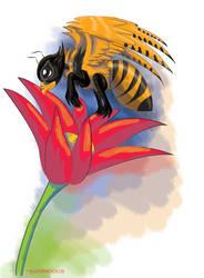 Bee Bird by Kosmotiel
