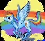 Rainbow Dash by Kosmotiel