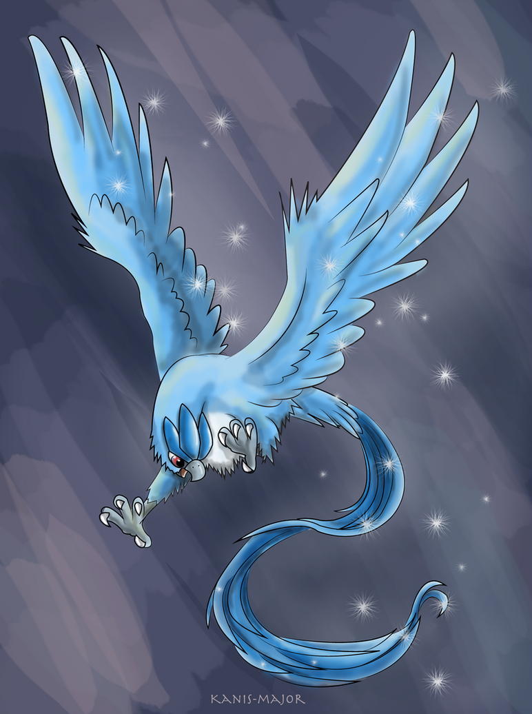 Articuno by Kanis-Major