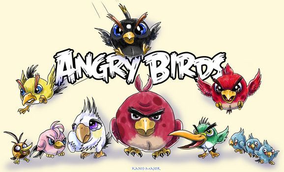 -ANGRY BIRDS-