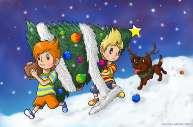 Xmas Mother 3 by Kosmotiel