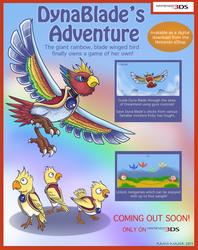 DynaBlade's Adventure by Kosmotiel