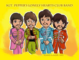Beatles - Sgt. Pepper's by Kosmotiel