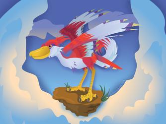 Link's Friendlist: Crimson Loftwing by Kosmotiel