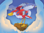 Link's Friendlist: Crimson Loftwing