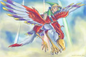Skyward Sword by Kosmotiel