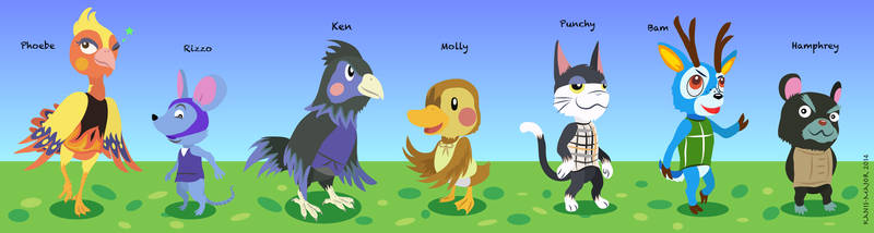 Animal Crossing - Villagers