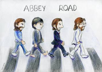 Abbey Road by Kosmotiel