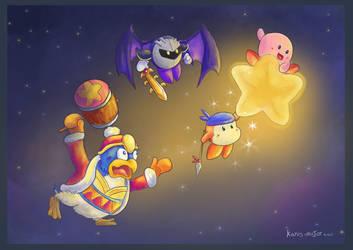 Kirby by Kosmotiel