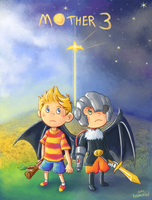 Mother 3 10th Anniversary by Kosmotiel