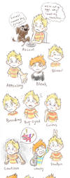 The many expressions of Lucas and Claus by Kosmotiel