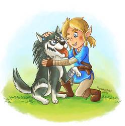 Man's Best Friend - Legend of Zelda by Kosmotiel