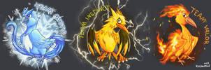 Pokemon Go Teams by Kosmotiel
