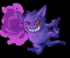 Gengar used Shadow Punch! by Kosmotiel
