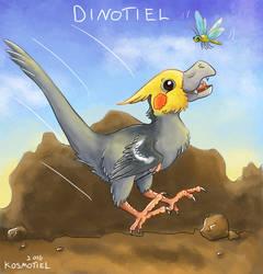 Dinotiel by Kosmotiel