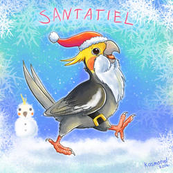 Santatiel is Coming to Town! by Kosmotiel