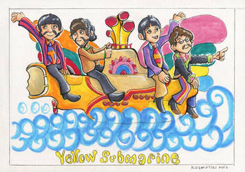 We All Live in the Yellow Submarine! by Kosmotiel