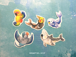 Parrotfish by Kosmotiel