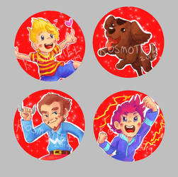 Mother3 Buttons by Kosmotiel