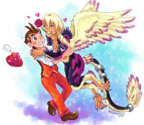 Klapollo Valentine by Kosmotiel