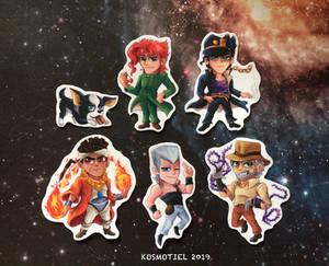 Stardust Crusaders Stickers