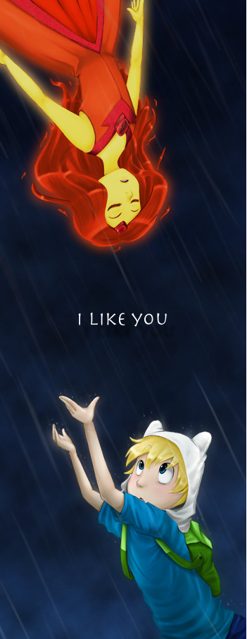 Adventure Time: I like you by lainykins