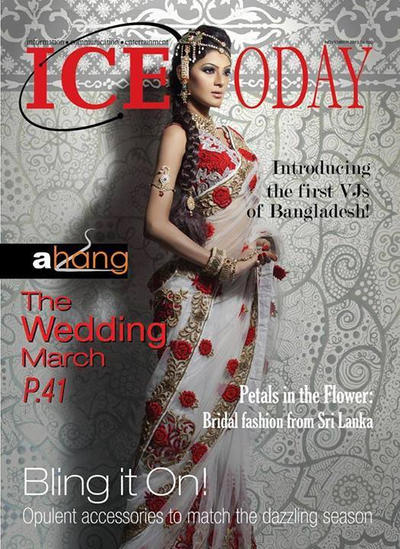 Magazine S Cover Page Design For Ice Today By Zubayer45 On Deviantart