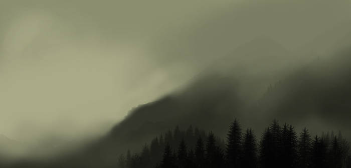 Cloudy Mountains by BOTAGAINSTHUMANITY