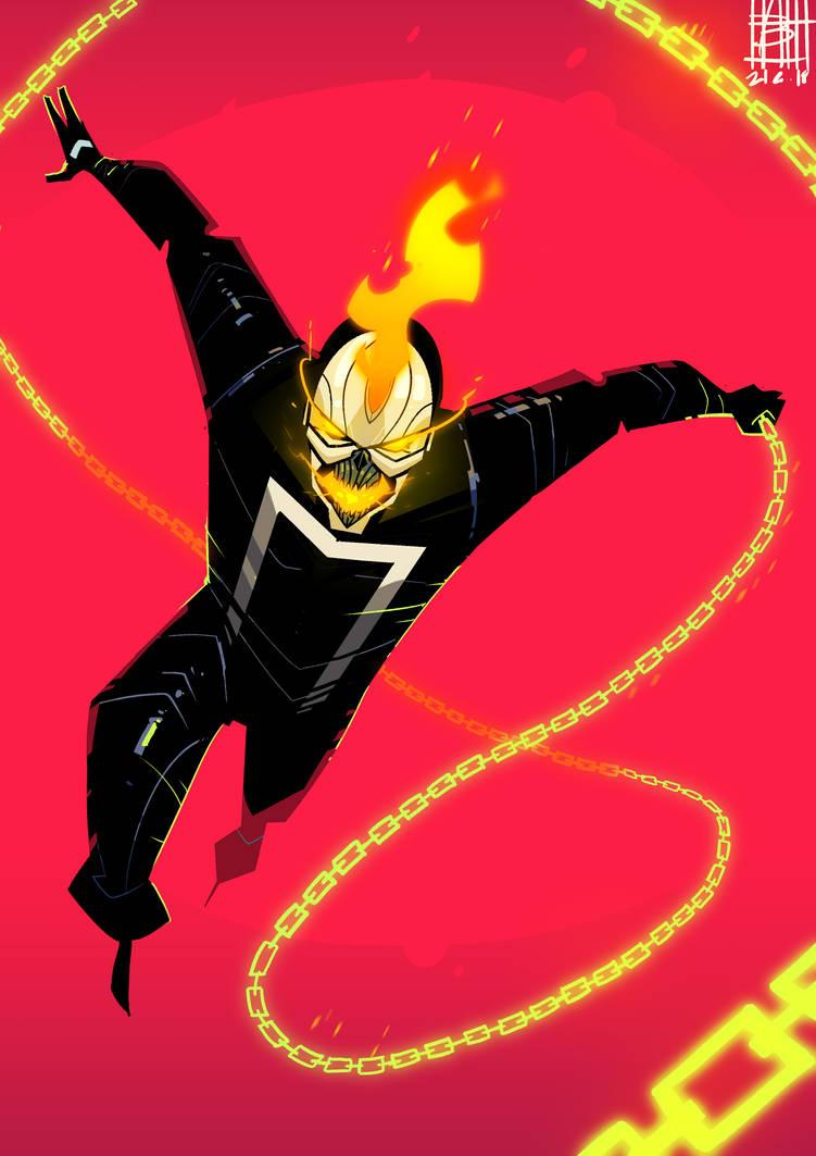 Ghost Rider Robbie Reyes By Botagainsthumanity On Deviantart
