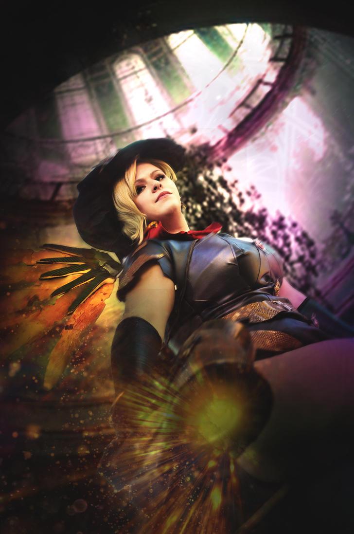 Mercy Halloween Skin - Overwatch by Kibamarta on DeviantArt