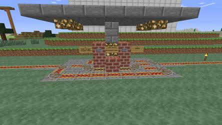 Minecraft: railroad start/stop system